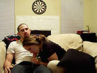 Real couple shot amateur blowjob video for this site