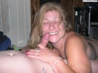 Skanky MILF from nextdoor fucked at home