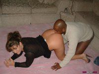 White amateur MILFs getting boned by big black cocks