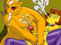 Simpsons gone sex-crazed - Totally insane extreme sex shows from the Simpsons