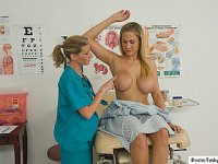 Erotic latina gets a deep anal and gyno exam