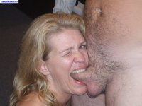Slutty and skanky MILF amateurs love blowjobs