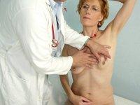 Elder Mila visiting gyno medic to get gyno check up