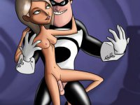 Toon superhero pornstars - See The Incredibles fuck the evil to death
