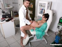 Sandra Spreads Her Legs For Dirty Doctor