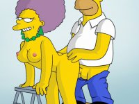 Dirty cheating Simpsons - The most unexpected fuckmates from The Simpsons