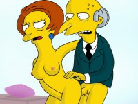 The Simpsons love sex - Unleashed hardcore fun from inimitable The Simpsons