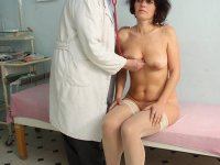 Radima senior puss speculum gyno exploration at clinic