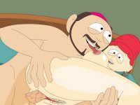 South Park sex scandal - Broflovski couple from South Park busted banging
